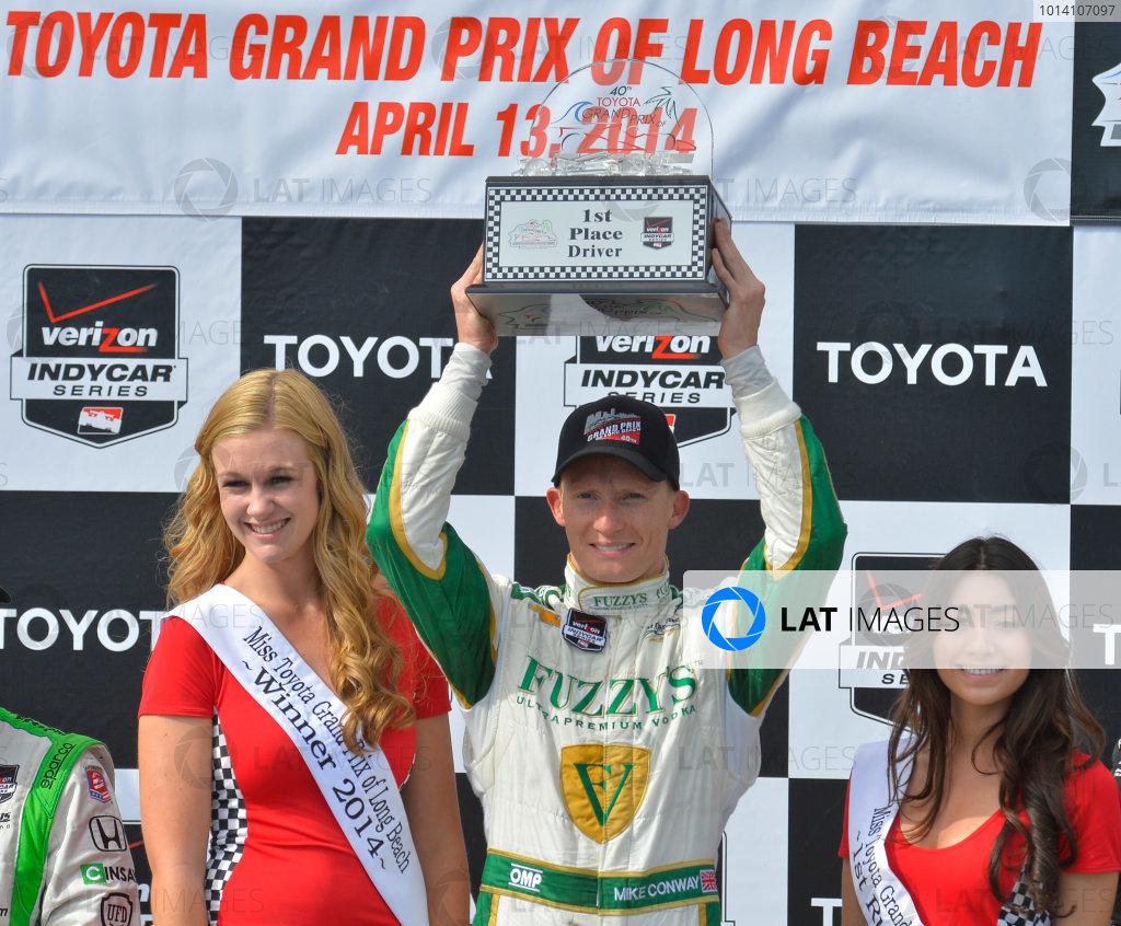 11-13 April, 2014, Long Beach, California USA #20 Mike Conway Fuzzy