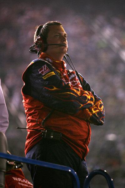 Steve Letarte (USA) Crewchief of Jeff Gordon (USA) DuPont Chevrolet. Sharpie 500, Bristol Motor Speedway, Tennessee, USA, 22-24 August 2008.