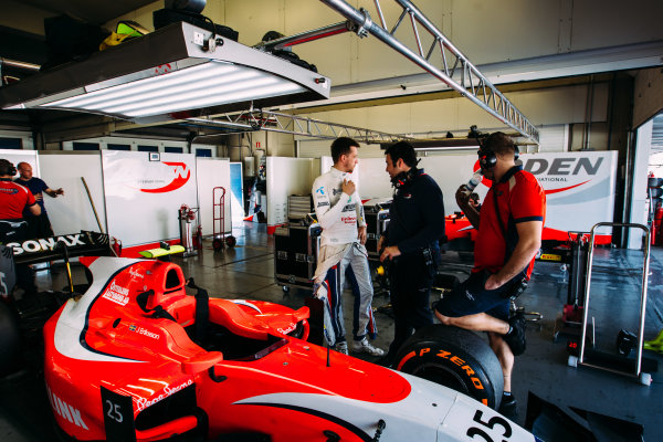 2016 GP2 Series Testing. Jerez, Spain. Wednesday 30 March 2016 Jimmy Eriksson (SWE) Arden International  World Copyright: Malcolm Griffiths/LAT Photographic. ref: Digital Image _G7C1206