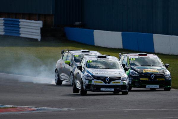 2016 Renault Clio Cup, Donington Park, 16th-17th April 2016, Paul Rivett (GBR) WDE Motorsport Renault Clio Cup  World copyright. Jakob Ebrey/LAT Photographic