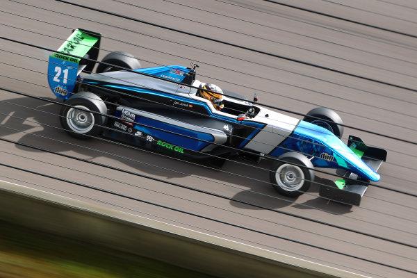 2016 BRDC British Formula 3 Championship, Rockingham, Northamptonshire.  30th April - 1st May 2016. Jan Jonck (DEN) Sean Walkinshaw Racing BRDC F3. World Copyright: Ebrey / LAT Photographic.