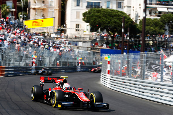 2017 FIA Formula 2 Round 3. Monte Carlo, Monaco. Saturday 27 May 2017. Alexander Albon (THA, ART Grand Prix)  Photo: Zak Mauger/FIA Formula 2. ref: Digital Image _X4I9533