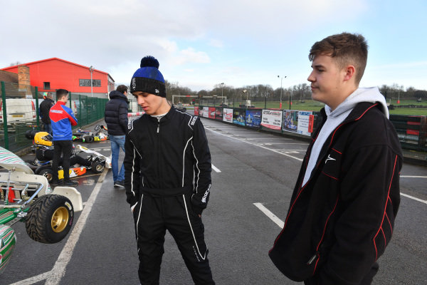 Lando Norris with James Sutton, Motorsport Network,