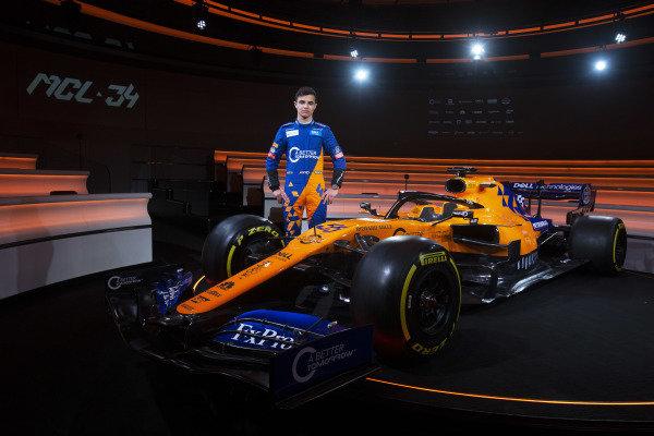 Lando Norris, McLaren and the new McLaren MCL34