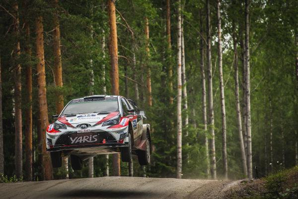 Esapekka Lappi (FIN) / Janne Ferm (FIN), Toyota Gazoo Racing WRT Toyota Yaris WRC at World Rally Championship, Rd9, Rally Finland, Day One, Jyvaskyla, Finland, 28 July 2017.