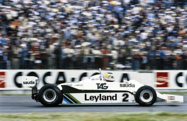 Carlos Reutemann, Williams FW07C Ford.