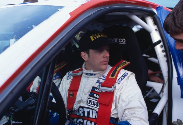 2002 British Rally Championship.Pirelli International Rally, Gateshead, April 26-28 2002.Mark Higgins, Ford Focus WRC, Winner.World Copyright: Griffiths/LAT PhotographicRef: 35 mm original transparency