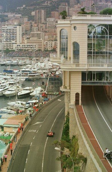 1998 Monaco Grand Prix.Monte Carlo, monaco.21-24 May 1998.Heinz-Harald Frentzen (Williams FW20 Mecachrome).World Copyright - Steve Etherington/LAT Photographic