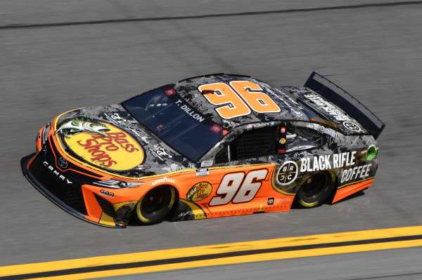 #96: Ty Dillon, Gaunt Brothers Racing, Toyota Camry Bass Pro Shops / Black Rifle Coffee