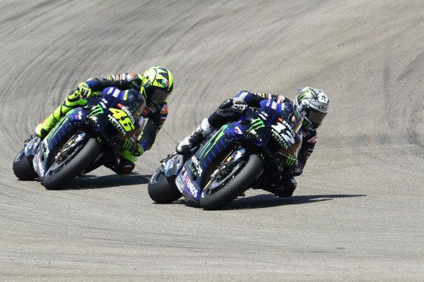 Maverick Vinales, Yamaha Factory Racing, Valentino Rossi, Yamaha Factory Racing.