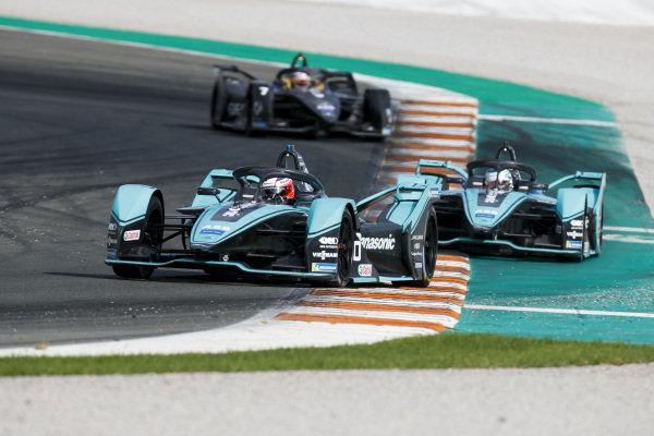 Mitch Evans (NZL), Panasonic Jaguar Racing, Jaguar I-Type 4 leds James Calado (GBR), Panasonic Jaguar Racing, Jaguar I-Type 4
