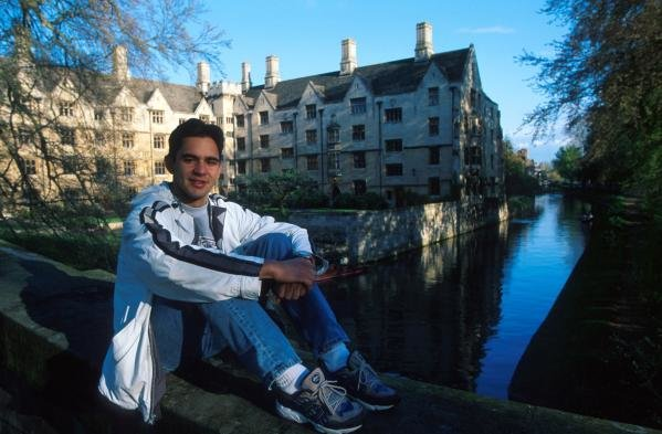 Antonio PizzoniaAntonio Pizzonia at home feature, Cambridge, 26 April 2000