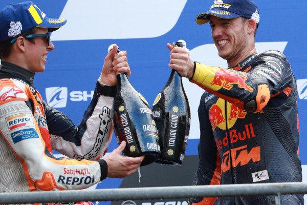 Alex Marquez, Repsol Honda Team Pol Espargaro, Red Bull KTM Factory Racing.