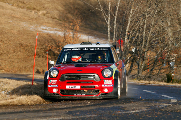 Round 01-Rally Monte Carlo 17-22 January 2012. Dani Sordo, Mini WRC, ActionWorldwide Copyright: McKlein/LAT