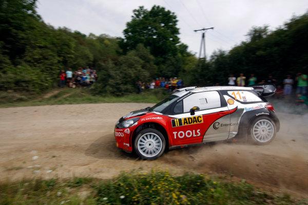 Round 09 - Rally Deutschland 18-21 August 2011.Petter Solberg, Citroen WRC, Action.Worldwide Copyright: McKlein/LAT